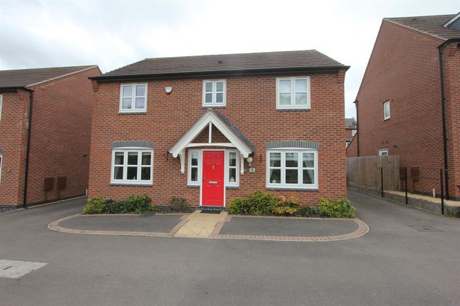 Thumbnail Detached house for sale in Helsinki Drive, Hinckley