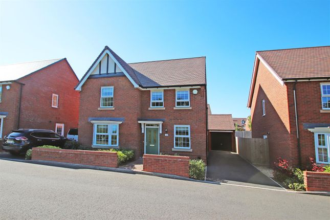 Thumbnail Detached house for sale in Intaglio Drive, Barlaston, Stoke-On-Trent