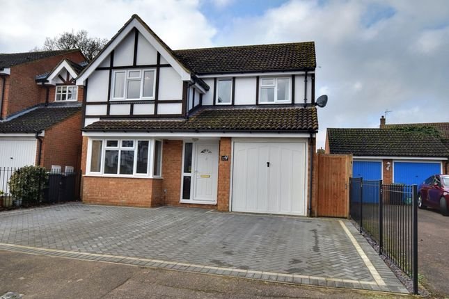 Thumbnail Detached house for sale in Sullivan Close, Shefford, Bedfordshire