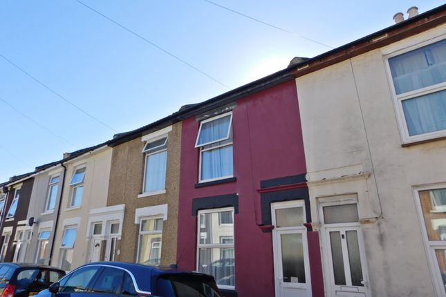Thumbnail Terraced house to rent in Esslemont Road, Southsea
