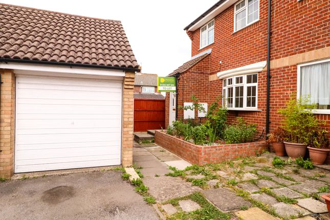Thumbnail Semi-detached house to rent in Westside Close, Basingstoke