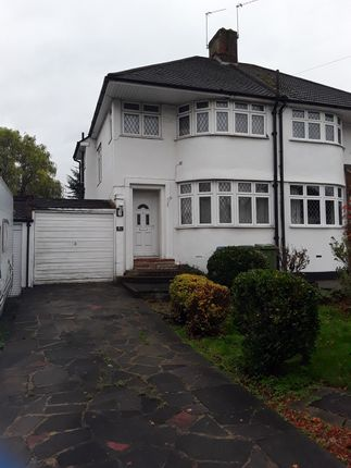 3 bed semi-detached house to rent in Brownspring Drive, London SE9