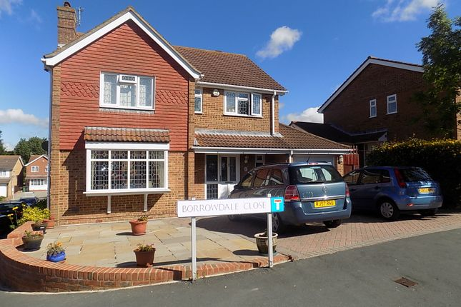 Thumbnail Detached house for sale in Borrowdale Close, Eastbourne
