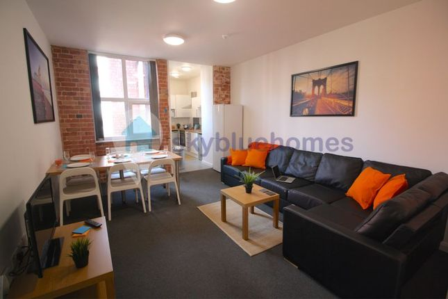 Thumbnail Flat to rent in Lower Brown Street, Leicester