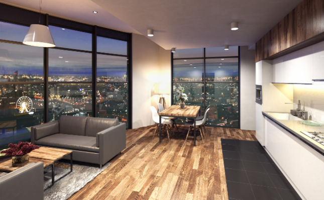 Thumbnail Flat for sale in Herculaneum Quay, Liverpool, Lancashire