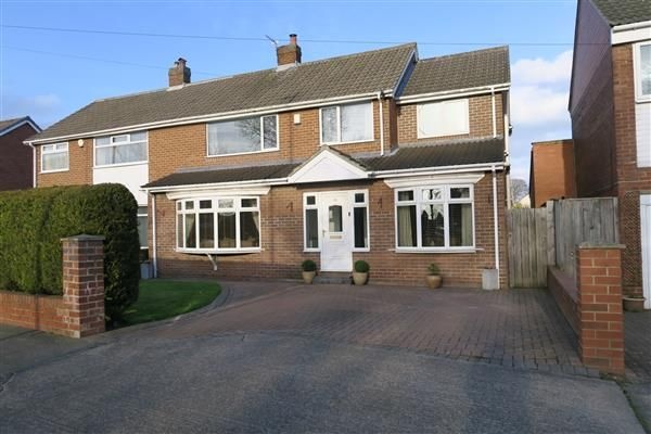 Thumbnail Semi-detached house for sale in Lilac Gardens, Cleadon, Sunderland