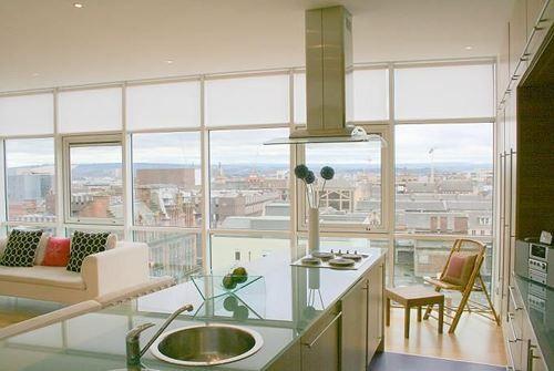 Thumbnail Flat to rent in Fleming House, Renfrew Street, Glasgow