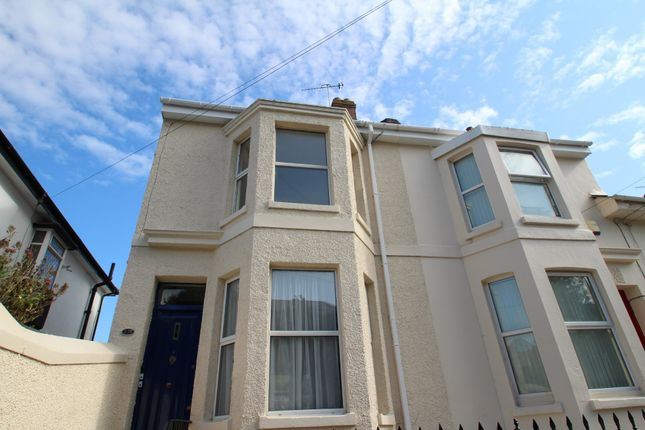 Thumbnail Flat to rent in Alexandra Road, Ford, Plymouth