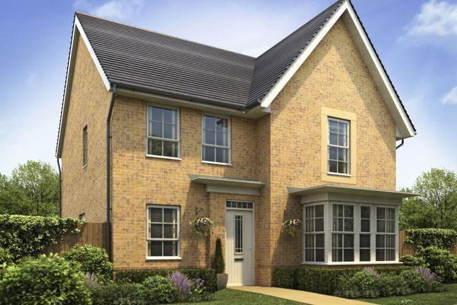 "Thumbnail Detached house for sale in ""Cambridge"" at Lantern Lane, East Leake, Loughborough"