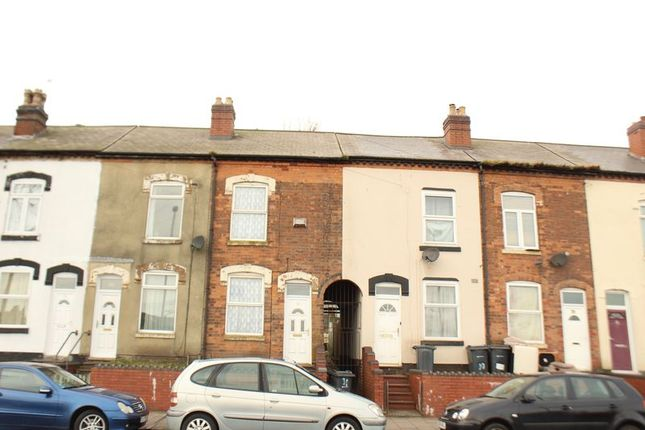 Thumbnail Terraced house to rent in Boulton Road, Handsworth, Birmingham