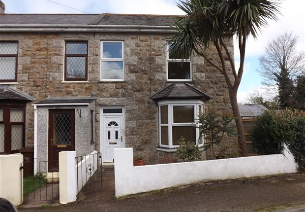 Thumbnail End terrace house to rent in Crane Road, Camborne