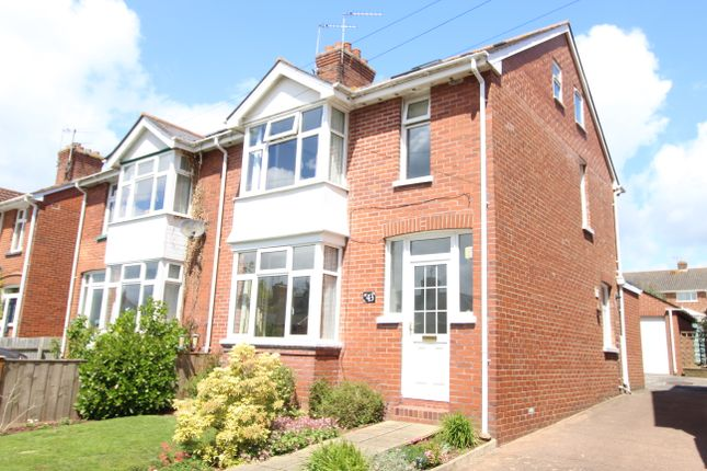 Thumbnail Semi-detached house for sale in Chard Road, Exeter