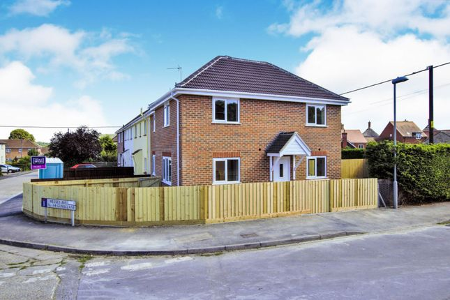 Thumbnail End terrace house for sale in Coombe Road, Blandford Forum