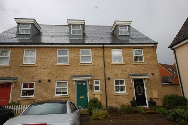 Thumbnail Terraced house to rent in Bull Drive, Kesgrave, Ipswich, Suffolk