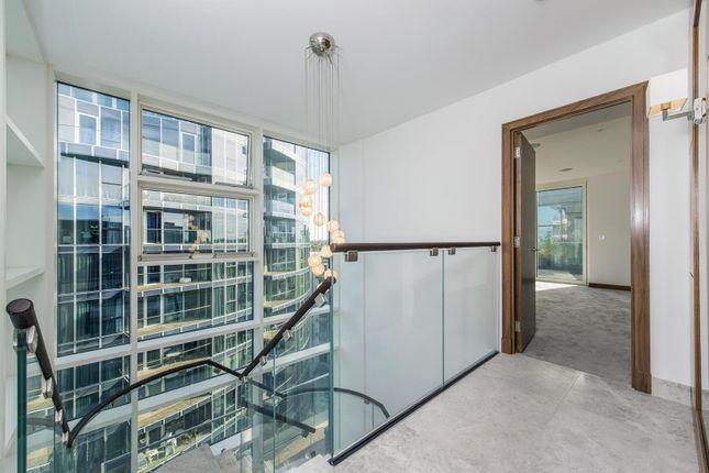 Interior of Quarter House, Juniper Drive, Battersea Reach, London SW18