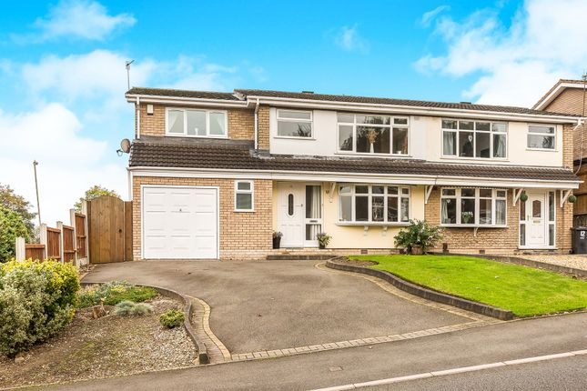Thumbnail Semi-detached house for sale in Waterfall Road, Brierley Hill