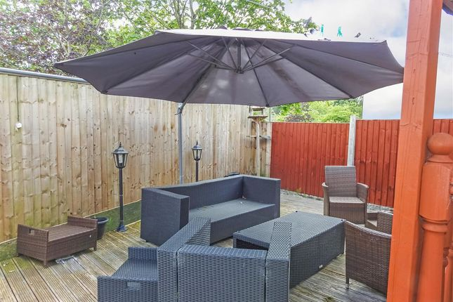 Rear Garden of Mendip Road, Clayton-Le-Woods, Chorley PR25