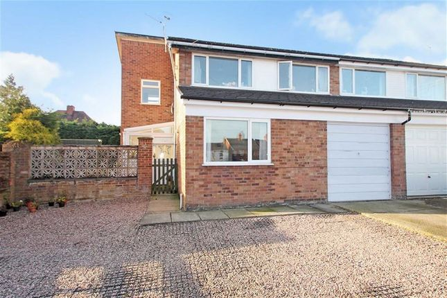 Thumbnail Semi-detached house for sale in Pleasant View, Weston Rhyn, Oswestry