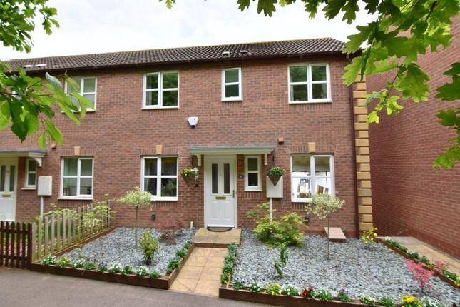 Thumbnail Semi-detached house for sale in Bates Close, Loughborough