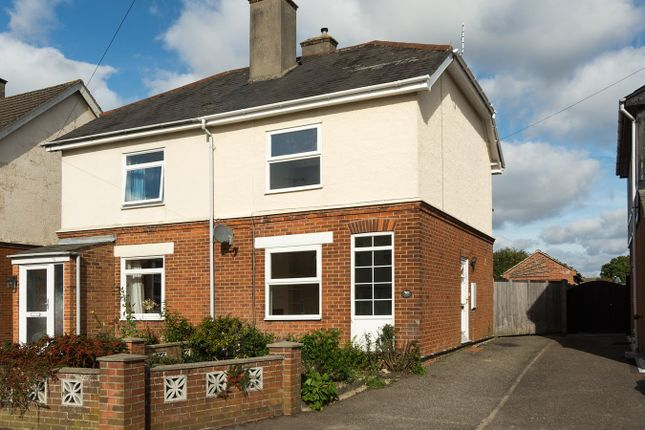 Thumbnail Semi-detached house to rent in Colchester Road, West Bergholt, Colchester