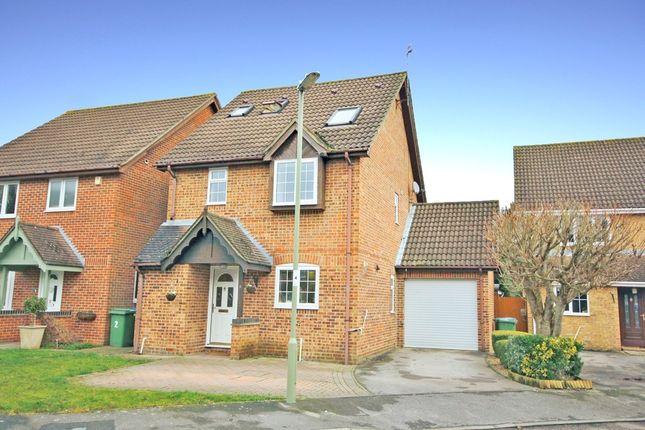 Thumbnail Detached house for sale in Hill Croft, Titchfield, Fareham