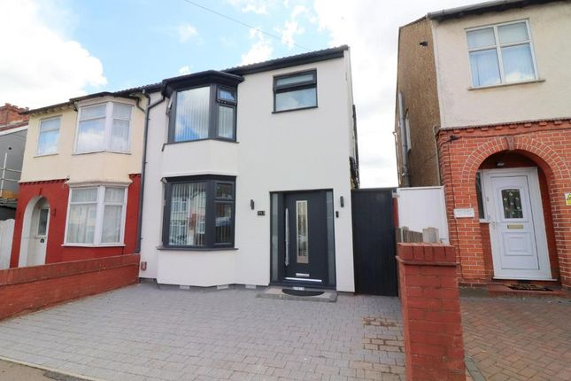 4 bed semi-detached house for sale in Connaught Road, Luton, Bedfordshire LU4