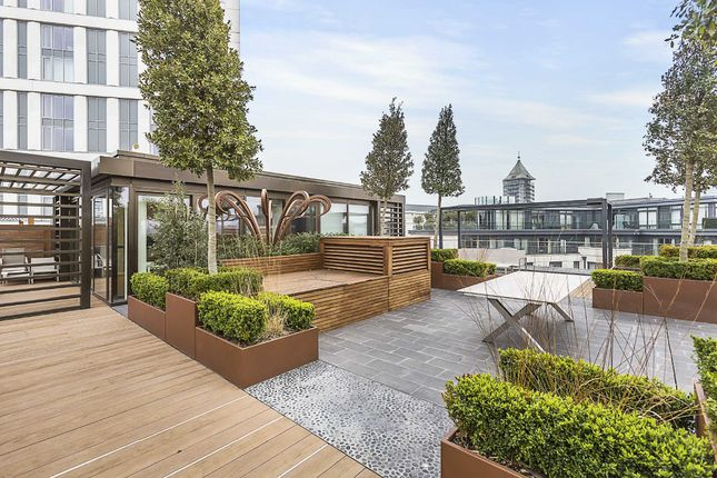 Thumbnail Flat for sale in Countess House, Chelsea Creek, Fulham, London
