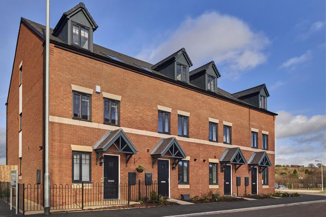 """Thumbnail End terrace house for sale in """"Norbury"""" at Bird Way, Lawley, Telford"""