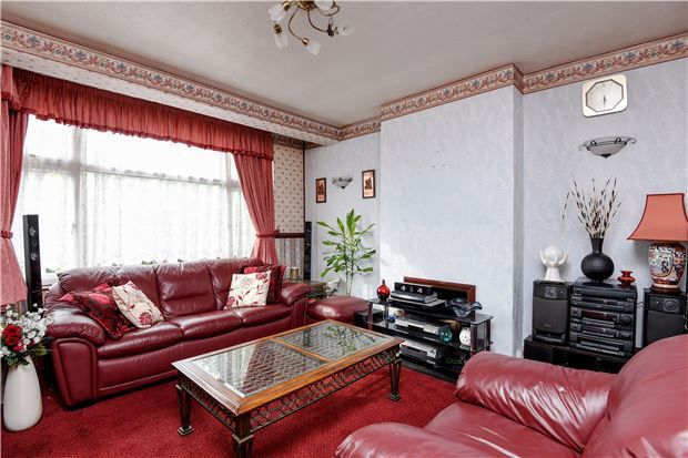 Thumbnail Terraced house for sale in Edgehill Road, Mitcham, Surrey