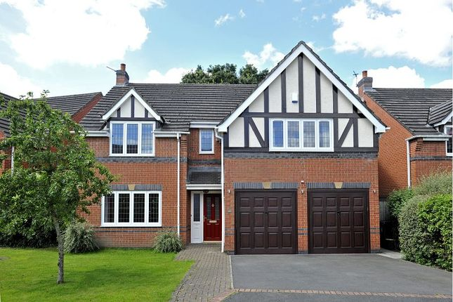 Thumbnail Detached house for sale in Thornfield, Much Hoole, Preston