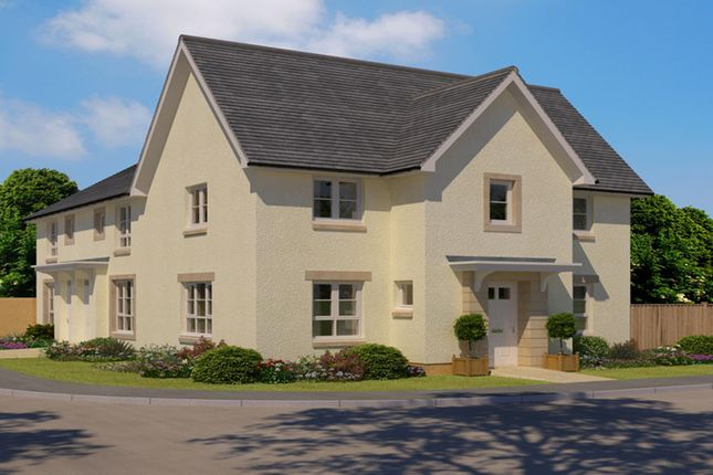 "Thumbnail End terrace house for sale in ""Abergeldie"" at Kildean Road, Stirling"