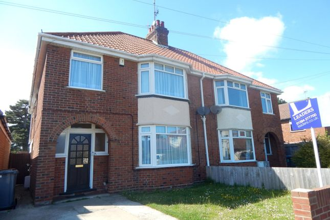 Thumbnail Semi-detached house to rent in Langer Road, Felixstowe