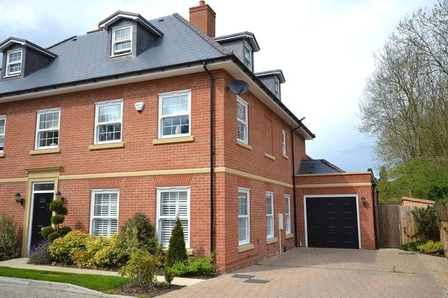 Thumbnail Semi-detached house for sale in Bluebell Drive, Rickling Green, Saffron Walden