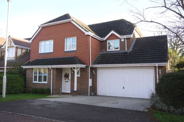 Thumbnail Detached house to rent in Innings Lane, Warfield, Bracknell