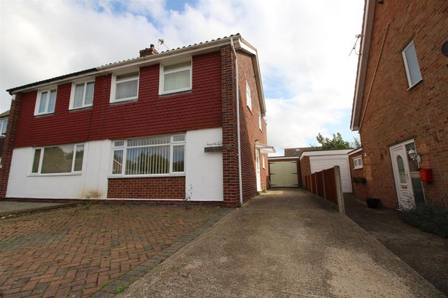 Thumbnail Semi-detached house for sale in Meadow Road, Sturry, Canterbury