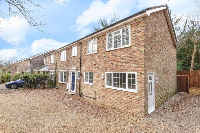 Thumbnail End terrace house for sale in Bosman Drive, Windlesham