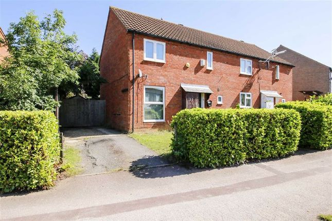 Thumbnail Semi-detached house to rent in Rawlins Road, Bradwell Village, Milton Keynes, Bucks