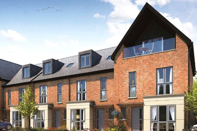 Thumbnail Terraced house for sale in Plot 96 Ashton Grove, Dunstable, Bedfordshire