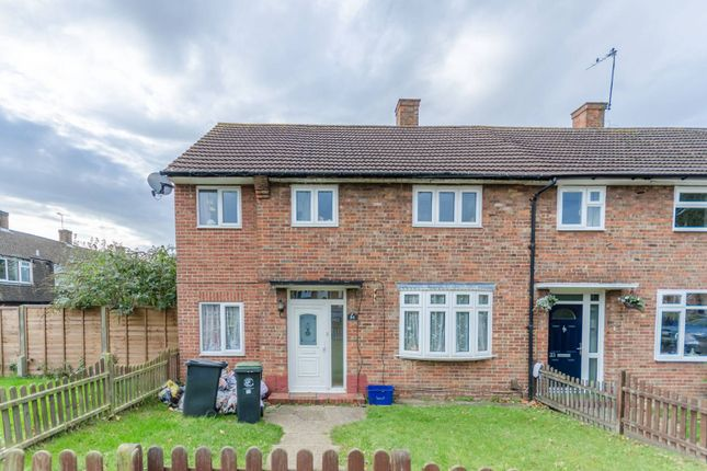 Thumbnail End terrace house to rent in Audley Gardens, Debden