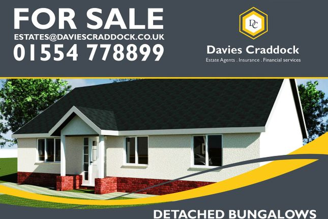 Thumbnail Bungalow for sale in Heol Y Meinciau, Carmarthenshire, Carmarthenshire
