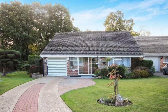 Thumbnail Bungalow for sale in Willow Close, Storrington, Pulborough, West Sussex