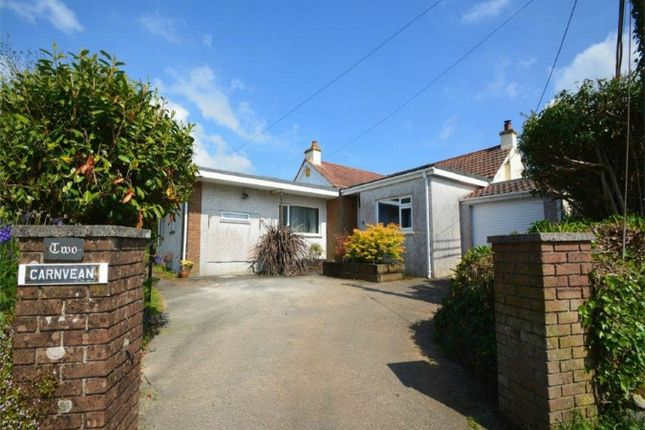 Thumbnail Detached bungalow for sale in Trevingey Road, Trevingey, Redruth, Cornwall