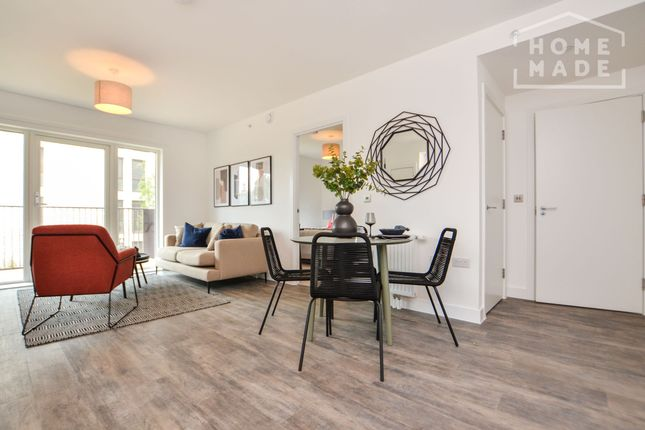 Thumbnail 1 bed flat to rent in Millet Place, Royal Docks