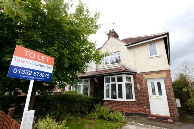 Thumbnail Semi-detached house to rent in Breedon St, Long Eaton