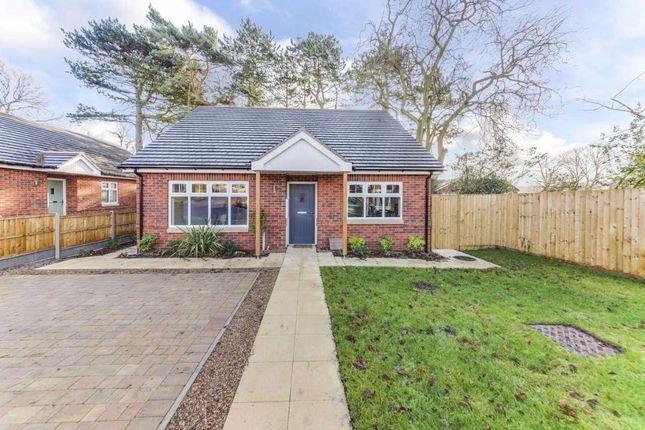 Thumbnail Bungalow for sale in Eureka Lodge Gardens, Swadlincote, Derbyshire