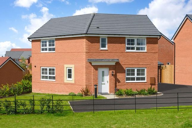 "Thumbnail Detached house for sale in ""Eskdale"" at Newton Lane, Wigston"