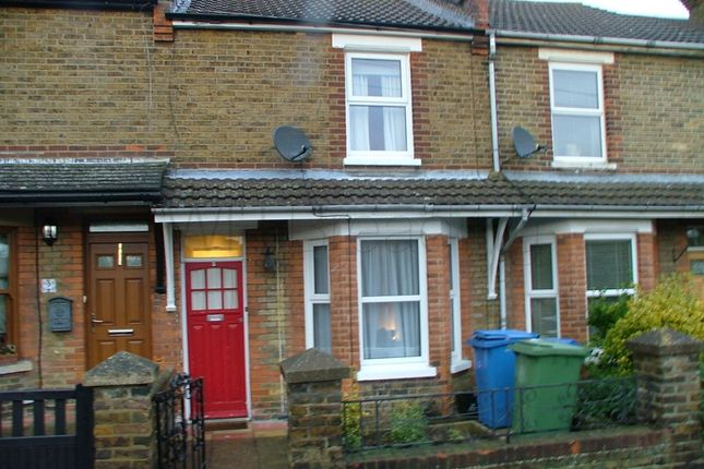 Thumbnail Terraced house to rent in School Road, Faversham