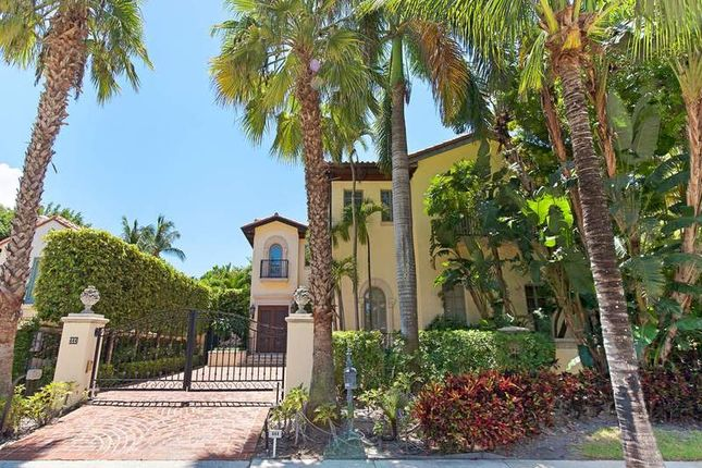 Thumbnail Property for sale in 444 Brazilian Ave, Palm Beach, Fl, 33480