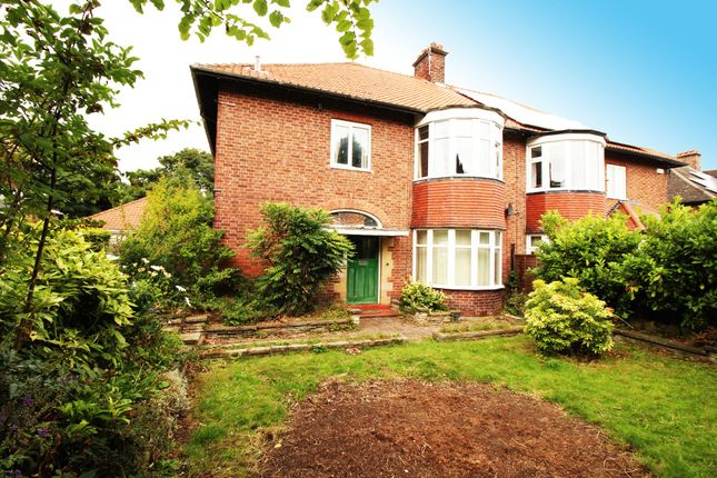 Thumbnail Semi-detached house for sale in Fenham Hall Drive, Fenham, Newcastle Upon Tyne
