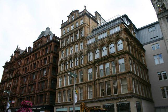 Thumbnail Flat to rent in Buchanan Street, Glasgow